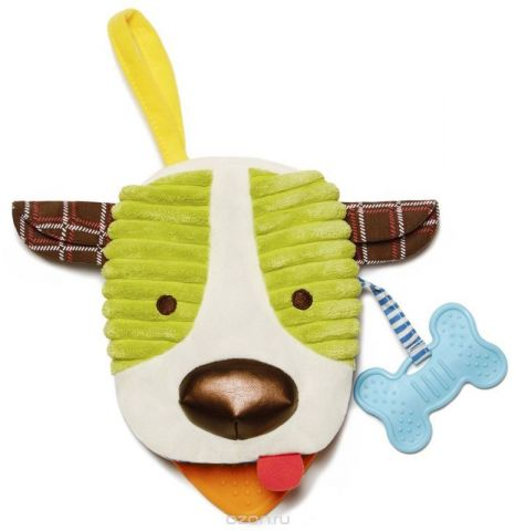 Skip Hop Развивающая игрушка Книжка-собака