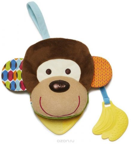 Skip Hop Развивающая игрушка Книжка-обезьяна