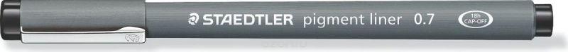 Staedtler Ручка капиллярная Pigment Liner 0,7 мм цвет чернил черный