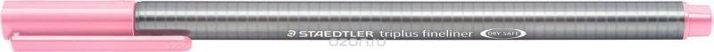 Staedtler Ручка капиллярная Triplus 334 0,3 мм цвет чернил розовый