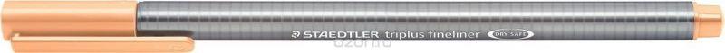 Staedtler Ручка капиллярная Triplus 334 0,3 мм цвет чернил персиковый