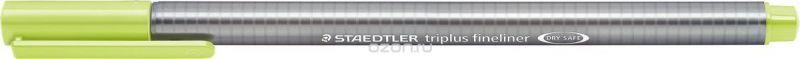Staedtler Ручка капиллярная Triplus 334 0,3 мм цвет чернил зеленый лайм
