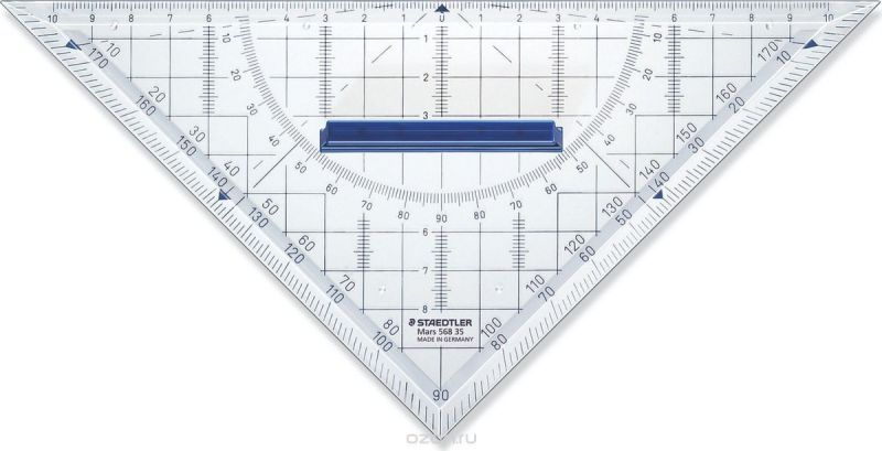 Staedtler Треугольник Mars 568 22 см