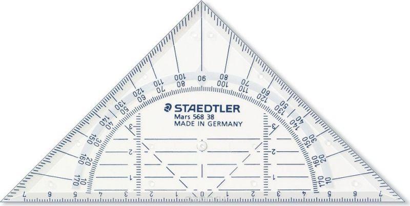 Staedtler Треугольник Mars 568 16 см