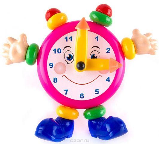 Пластмастер Развивающая игрушка Веселые часы