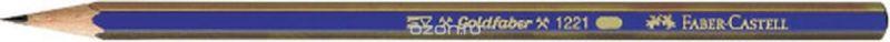 Faber-Castell Карандаш чернографитный Goldfaber 1221 2B