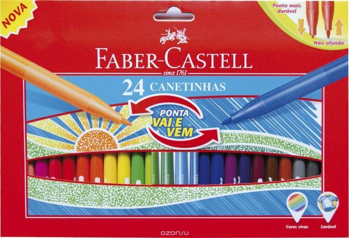 Faber-Castell Набор фломастеров 24 шт