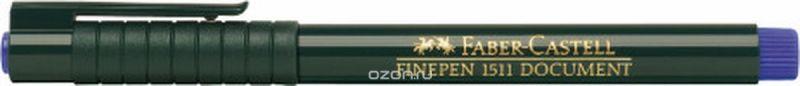 Faber-Castell Ручка капиллярная Finepen 1511 цвет чернил синий