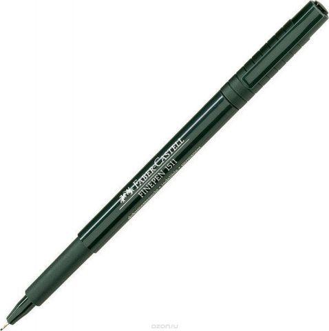 Faber-Castell Ручка капиллярная Finepen 1511 цвет чернил черный