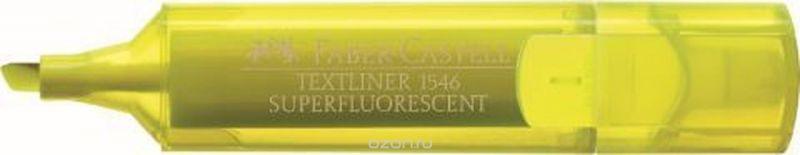 Faber-Castell Текстовыделитель 1546 флуоресцентный цвет желтый
