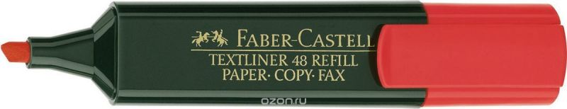 Faber-Castell Текстовыделитель 1548 цвет красный