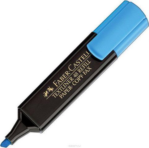 Faber-Castell Текстовыделитель 1548 цвет синий