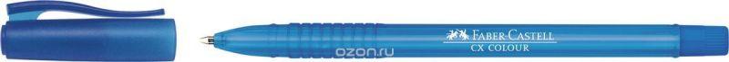 Faber-Castell Ручка-роллер СX5 0,7 мм цвет чернил голубой