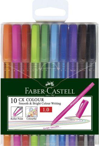 Faber-Castell Набор ручек-роллеров СX5 0,7 мм 10 шт