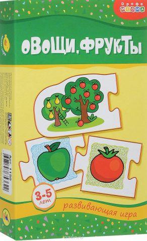Дрофа-Медиа Развивающая игра Овощи фрукты