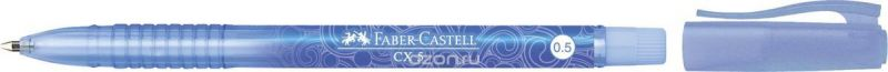 Faber-Castell Ручка-роллер СX5 0,5 мм цвет чернил синий