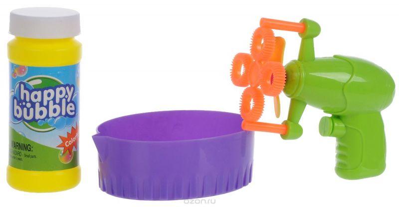 Junfa Toys Набор для пускания мыльных пузырей цвет салатовый