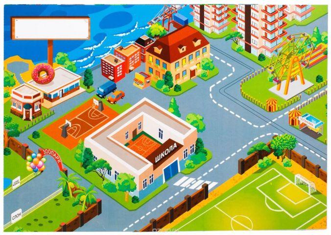 Лас Играс Обучающая игра Город фантазии