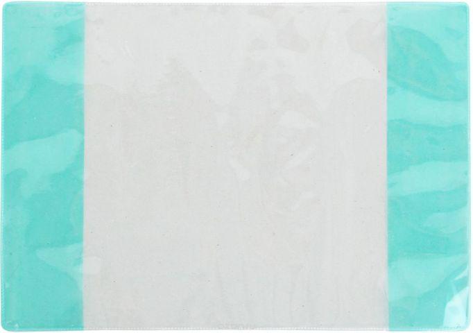 Фортуна Обложка для учебника старших классов цвет прозрачный бирюзовый