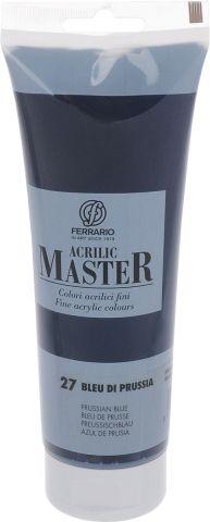 Ferrario Краска акриловая Acrilic Master цвет №27 прусский синий