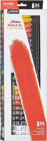 Pebeo Краска масляная Набор XL 24 цвета x 12 мл