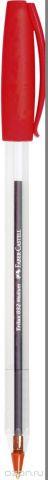 Faber-Castell Ручка шариковая Trilux цвет чернил красный