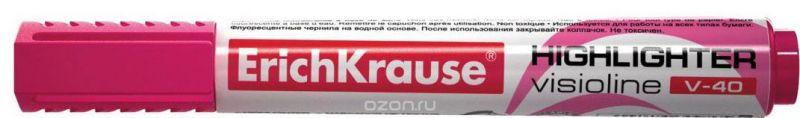 Erich Krause Маркер Visioline V-40 розовый 30976