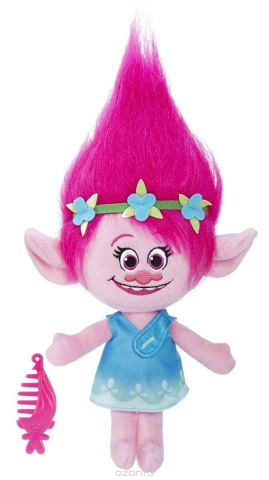Trolls Мягкая озвученная игрушка Поппи 33,5 см