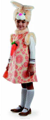 Батик Карнавальный костюм для девочки Зайка Липси размер 28