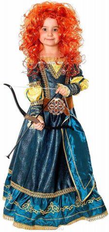 Батик Костюм карнавальный Принцесса Мерида размер 32