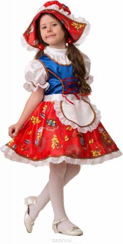 Дженис Карнавальный костюм для девочки Красная шапочка размер 26