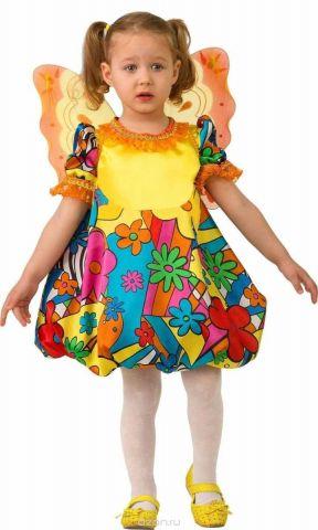 Дженис Карнавальный костюм для девочки Бабочка размер 28