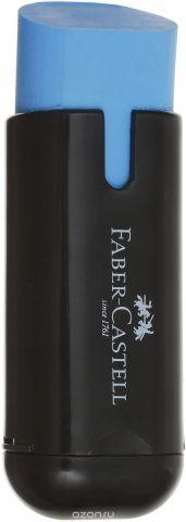 Faber-Castell Ластик с точилкой цвет голубой 183703
