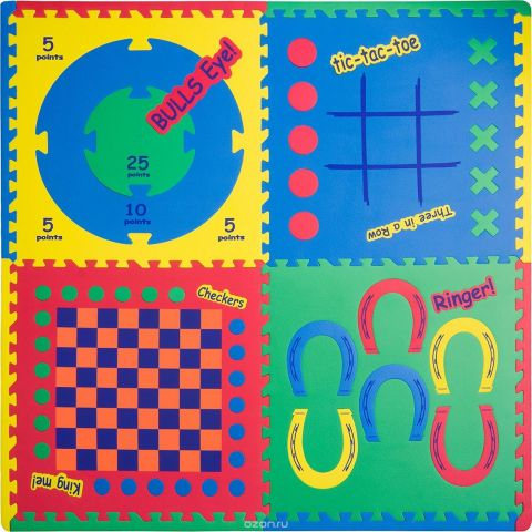 Funkids NT Коврик-пазл Игровой Центр 4 в 1 цвет в ассортименте