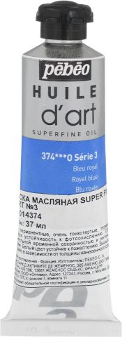 Pebeo Краска масляная Super Fine D'Art №3 цвет 014374 королевский синий 37 мл