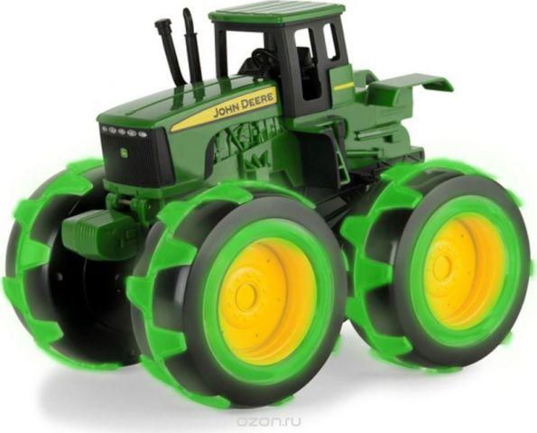 Tomy John Deere Трактор Monster Treads с подсветкой