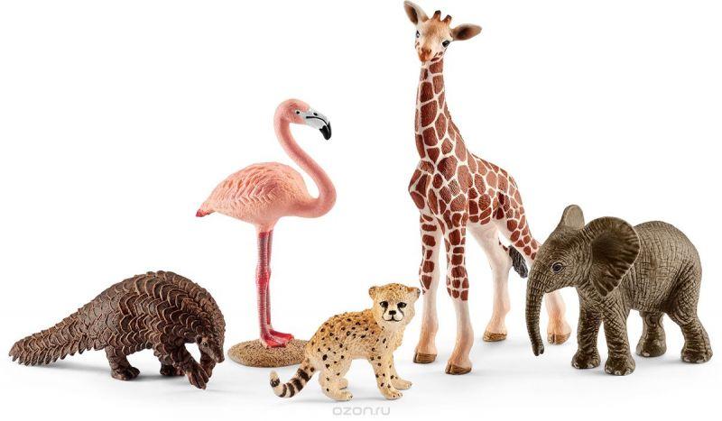 Schleich Набор фигурок Животные дикой природы