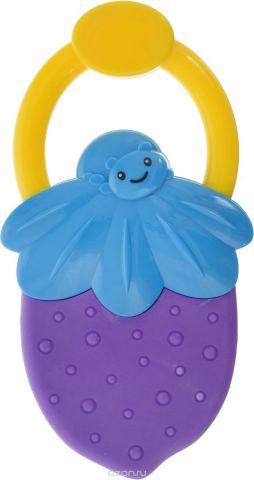 Bondibon Погремушка Ягодка цвет фиолетовый голубой