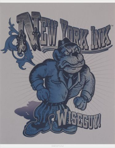 Action! Набор тетрадей New York Ink Горилла 48 листов в клетку 4 шт