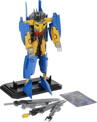 Склад уникальных товаров Робот-трансформер Авианосец XL цвет синий черный