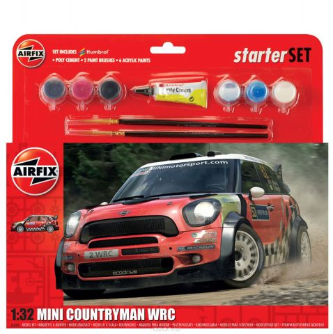 Airfix Автомодель MINI Countryman WRC