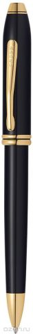 Cross Ручка шариковая Townsend цвет корпуса черный