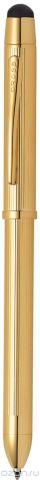 Cross Многофункциональная ручка Tech3+ цвет корпуса золотистый
