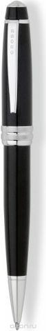 Cross Ручка шариковая Bailey черная цвет корпуса черный
