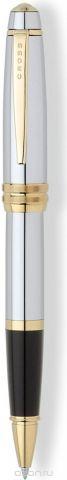 Cross Ручка-роллер Selectip Bailey цвет корпуса серебристый золотистый