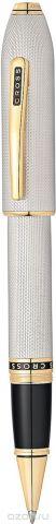 Cross Ручка-роллер Selectip Peerless 125 цвет корпуса платиновый позолота