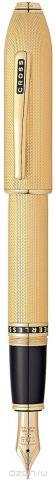 Cross Ручка перьевая Peerless 125 цвет корпуса золотистый перо золото 18К