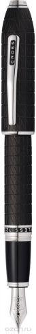 Cross Ручка перьевая Peerless Citizen LE Tokyo цвет корпуса матовый черный перо золото 18К