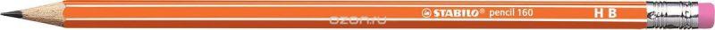 STABILO Карандаш чернографитный Pencil 160 цвет корпуса оранжевый