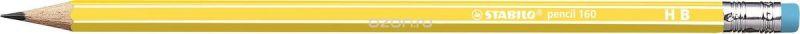 STABILO Карандаш чернографитный Pencil 160 цвет корпуса желтый